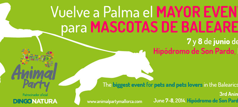 Animal Party, III Festival para la Mascota en Mallorca