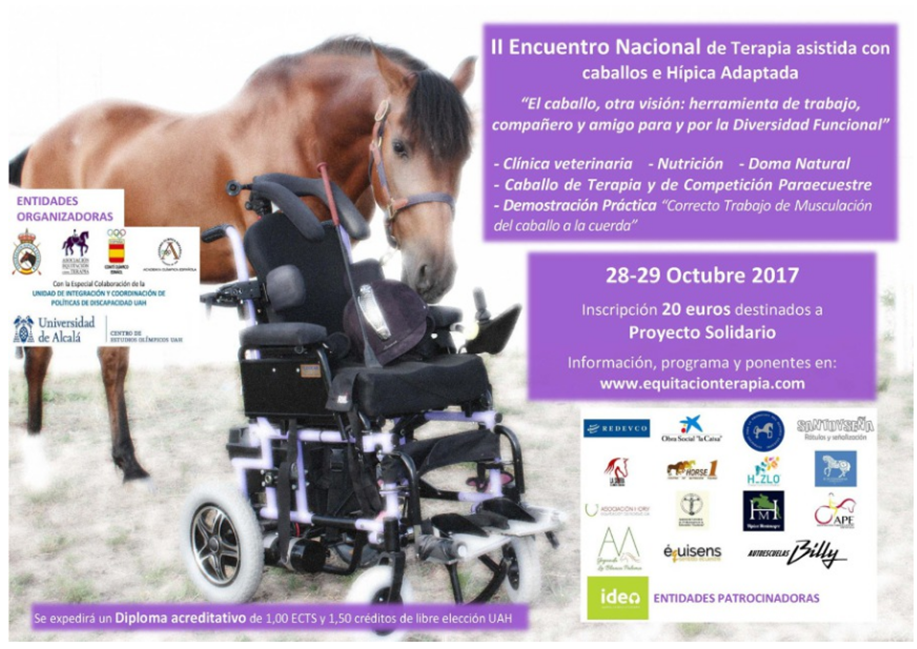 II Encuentro Nacional de Terapia Asistida con caballos e hípica adaptada