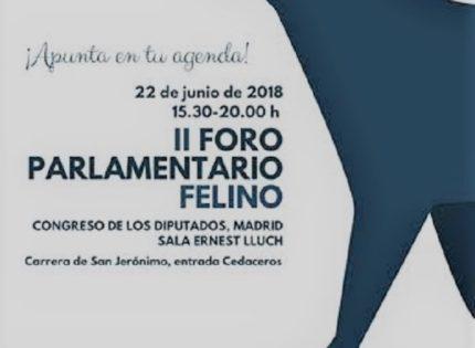 II Foro Parlamentario Felino el próximo 22 de junio