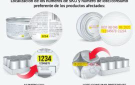 Información importante sobre recogida de productos HILL'S