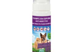 Nuevo: champú en espuma para perros y gatos de Menforsan