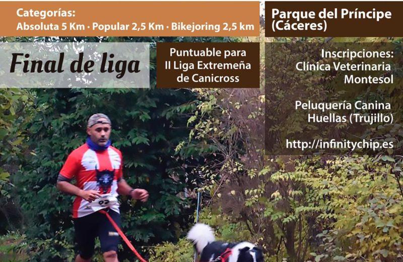 Llega el III Canicross Ciudad de Cáceres