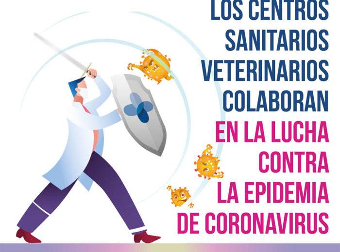 CEVE ofrece al gobierno la participación de la red privada de centros sanitarios veterinarios en el escenario de la epidemia de COVID-19.
