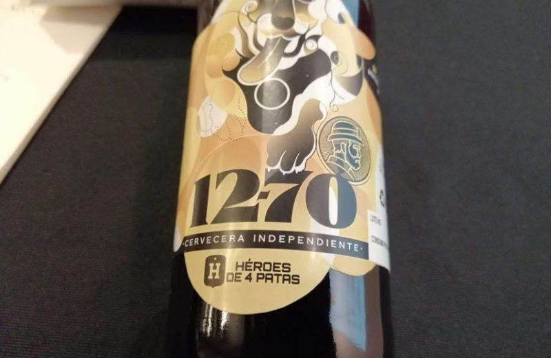Tómate una cerveza 12-70 y ayuda a Héroes de 4 Patas