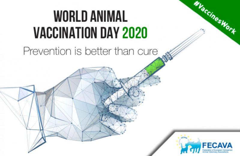 «Prevenir es mejor que curar» 20 de Abril, Día Mundial de Vacunación Animal