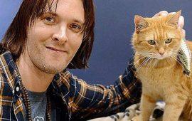 El protagonista del libro «Un gato callejero llamado Bob» ha muerto