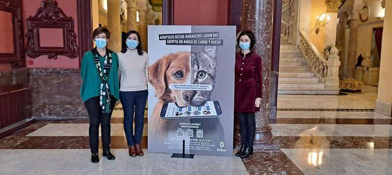 Campaña de adopción de animales