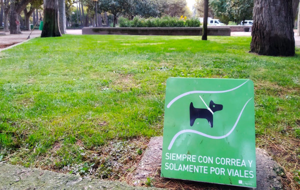 Advertencia perros
