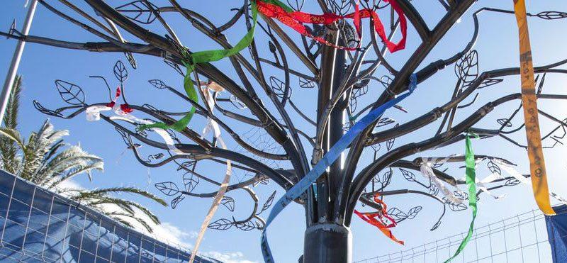 El árbol del recuerdo, un precioso memorial para mascotas en Alicante