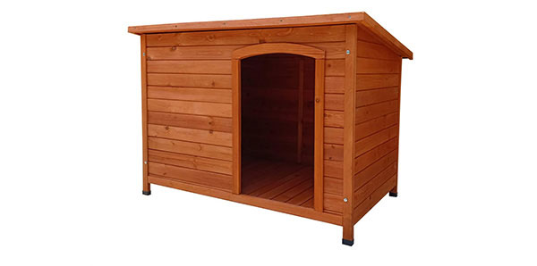 Caseta para perros madera