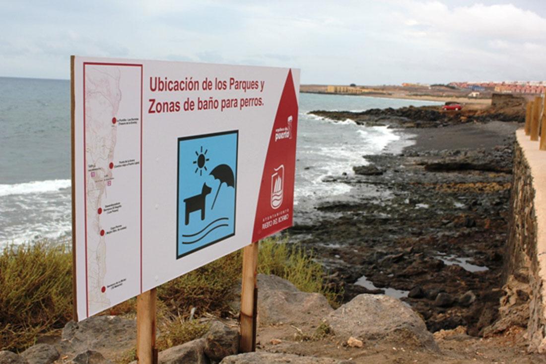 Cartel playas perros
