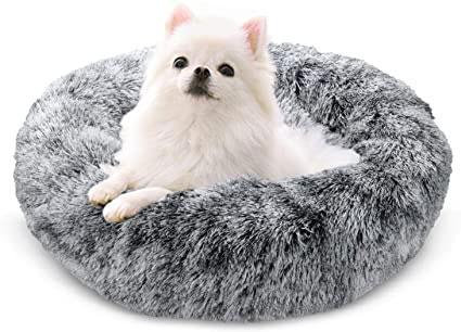 Cama de invierno perros